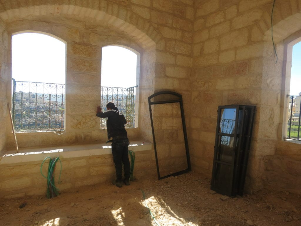 renovation of Maronite convent in Bethlehem