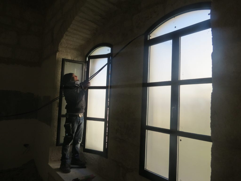 renovation Maronite convent in Bethlehem