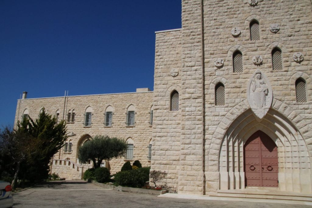 The Monastery of Our Lady of Mount Carmel in Haifa, Israel.