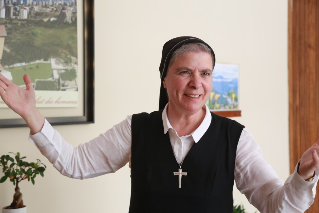 Sister Marie Antoinette Saadé is general superior of the Congregation of the Maronite Sisters of the Holy Family